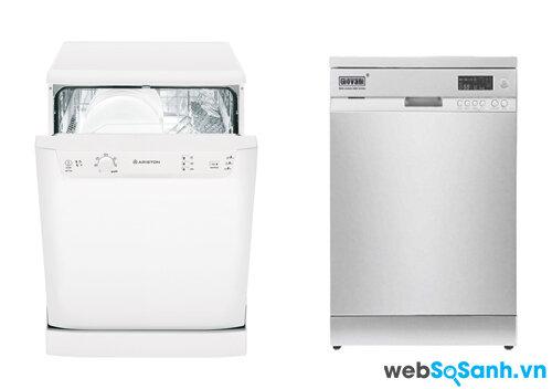 So sánh máy rửa bát Ariston LKF720 và Giovani GDW-F361D