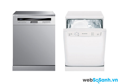 So sánh máy rửa bát Baumatic BDF683SS và Ariston LKF720