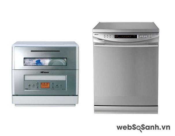 So sánh máy rửa bát Daiwa DWA-1620S và máy rửa bát Daiwa DWA-3301H
