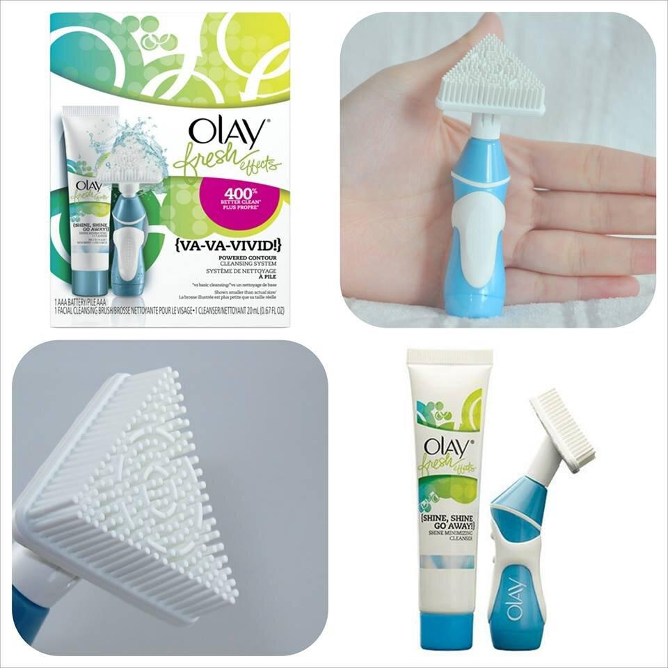 So sánh máy rửa mặt Olay Pro X Advanced Cleaning System và Olay Fresh Effects Va-Va-Vivid