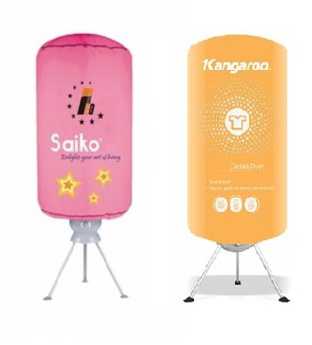 So sánh máy sấy quần áo Saiko CD9000UV và máy sấy quần áo Kangaroo KG308