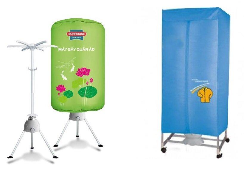 So sánh máy sấy quần áo Sunhouse SHD2610 và máy sấy quần áo Ecosun BM-CD161