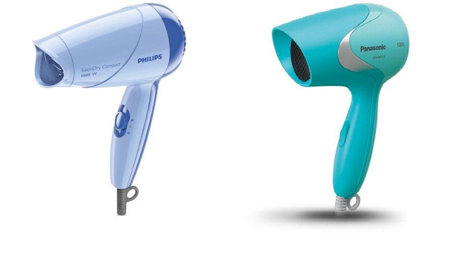 So sánh máy sấy tóc Panasonic EH-ND11-W645 vs Philips HP8100