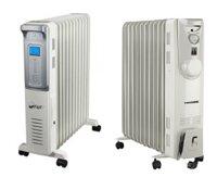 So sánh máy sưởi dầu FujiE OFR4411 và máy sưởi dầu Tiross TS926