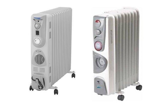"""So sánh máy sưởi dầu Tiross TS924 vs máy sưởi dầu FujiE OFR-169: """"Kẻ tám lạng người nửa cân"""""""