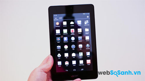 So sánh máy tính bảng Acer Iconia One 7 và BlackBerry PlayBook