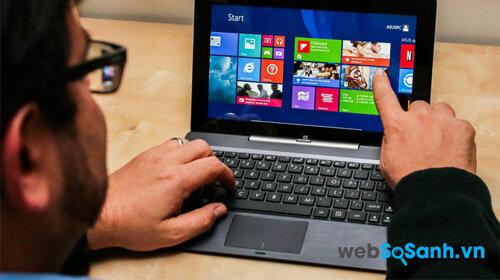 So sánh máy tính bảng Asus Transformer Book T200 và Xperia Z4 Tablet