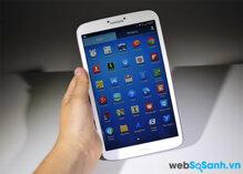 So sánh máy tính bảng Dell Venue 8 và Samsung Galaxy Tab 3