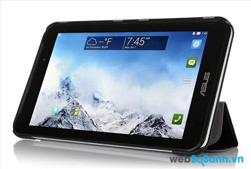 So sánh máy tính bảng giá rẻ BlackBerry PlayBook và Asus Fonepad 7