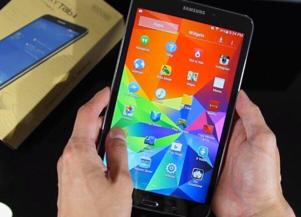 So sánh máy tính bảng giá rẻ Asus Fonepad 7 FE170 và Galaxy Tab 4 7.0