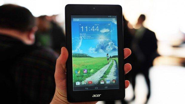 So sánh máy tính bảng giá rẻ màn hình 7 inch Acer Iconia One và Amazone Fire HD