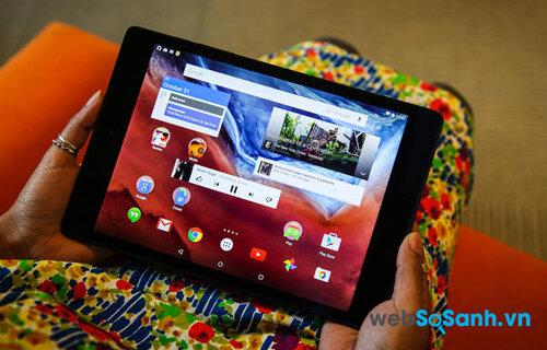 So sánh máy tính bảng Google Nexus 9 và Xperia Z4 Tablet