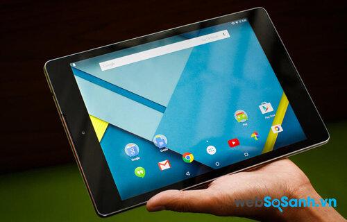So sánh máy tính bảng Google Nexus 9 và Lenovo Tab S8