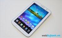 So sánh máy tính bảng Iconia A1 830 và Samsung Galaxy Note 8