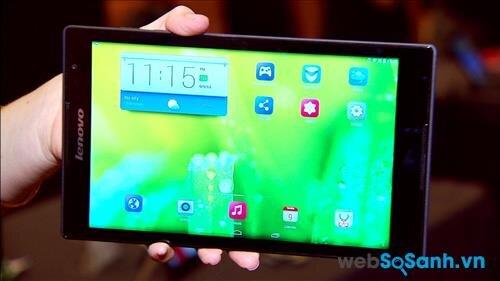 So sánh máy tính bảng Lenovo Tab S8 và Galaxy Note 8.0