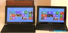 So sánh máy tính bảng Lenovo ThinkPad Tablet 2 và  Microsoft Surface Pro