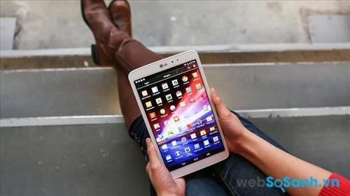 So sánh máy tính bảng màn hình 7 inch LG G Pad 7 và Samsung Galaxy Tab 2