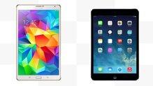 So sánh máy tính bảng Samsung Galaxy Tab S 8.4 và iPad mini 2