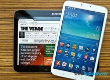 So sánh máy tính bảng Sony Xperia Z3 Compact và Samsung Galaxy Tab 3 8.0