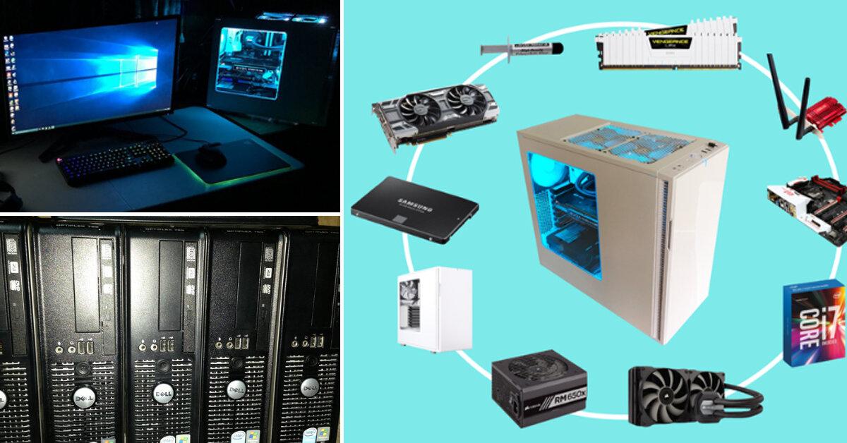 So sánh máy tính đồng bộ và máy tính lắp ráp : Nên mua máy tính nào ?