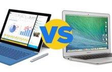 So sánh Microsoft Surface Pro 3 với Apple MacBook Air 13-inch