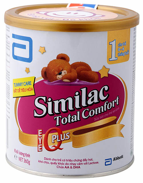 So sánh NAN Kid 4 với Similac Gain Total Comfort 3