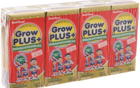So sánh nên mua sữa Grow Plus của Nutifood hay của Vinamilk tốt hơn