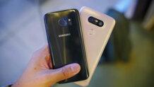 So sánh nhanh Samsung Galaxy S7 và LG G5