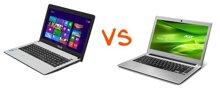 So sánh những điểm mạnh của Laptop ASUS X401 và Acer Aspire V5-471G