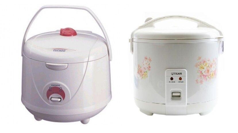 So sánh nồi cơm điện Cuckoo CR1021 và nồi cơm điện Tiger JNP1000