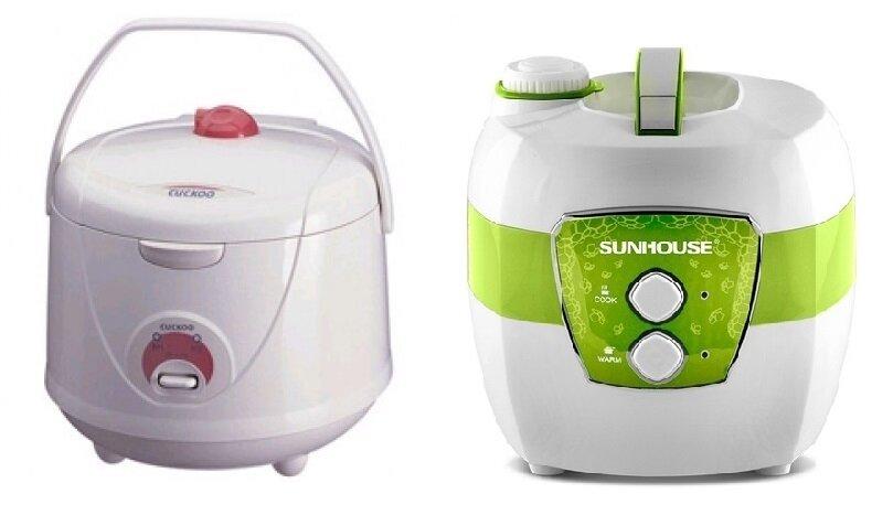 So sánh nồi cơm điện Cuckoo CR1021 và nồi cơm điện Sunhouse SHD8620