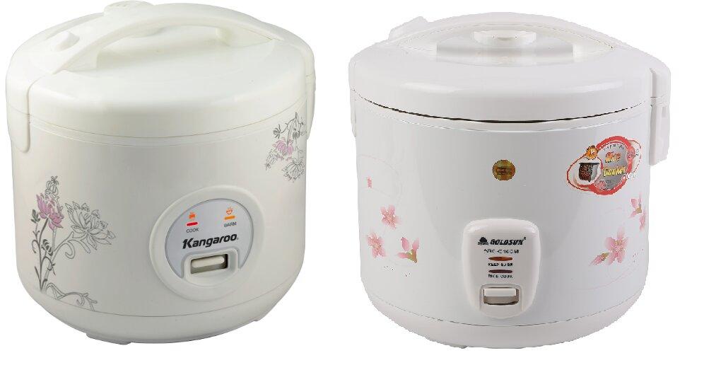So sánh nồi cơm điện Goldsun ARCG18CM và nồi cơm điện Kangaroo KG378