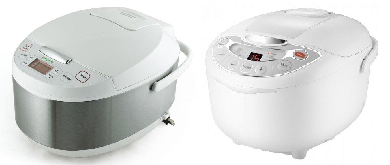 So sánh nồi cơm điện Kangaroo KG26 và nồi cơm điện Supor CFXB50FC11E-75