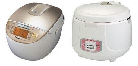 So sánh nồi cơm điện Panasonic SR-MG182 và nồi cơm điện Cuckoo CR1051