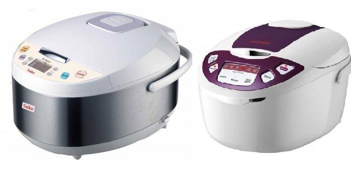 So sánh nồi cơm điện Saiko RC-1807ET và nồi cơm điện Supor CFXB50FD11VN-75