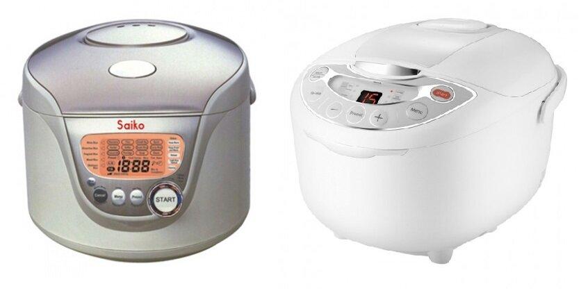 So sánh nồi cơm điện Saiko RC-1805ET và nồi cơm điện Supor CFXB50FC11E-75