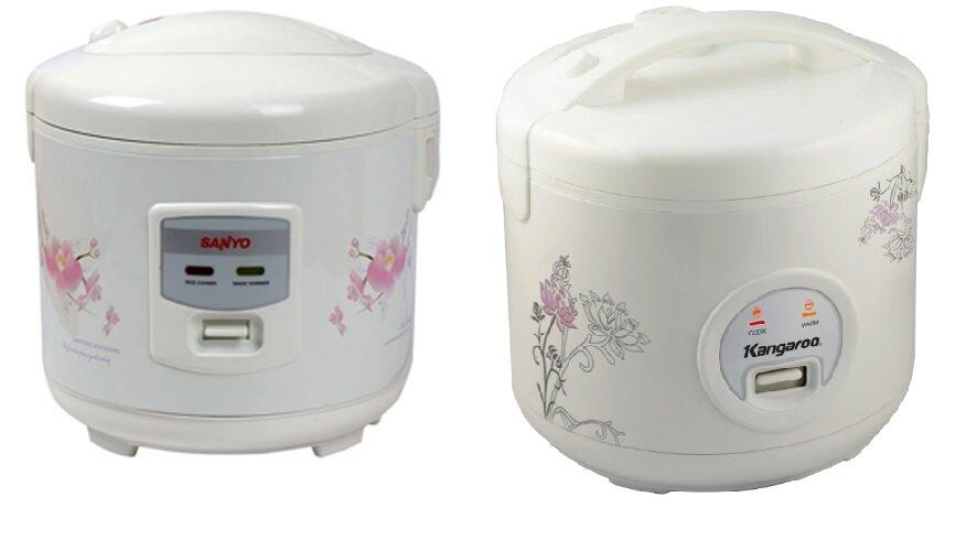 So sánh nồi cơm điện Sanyo ECJ-SP18AWF và nồi cơm điện Kangaroo KG378