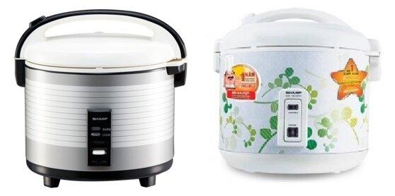 So sánh nồi cơm điện Sharp KS-1800 và nồi cơm điện Sharp KS-181EV