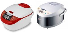 So sánh nồi cơm điện Sunhouse SHD8900 và nồi cơm điện Saiko RC-1807ET