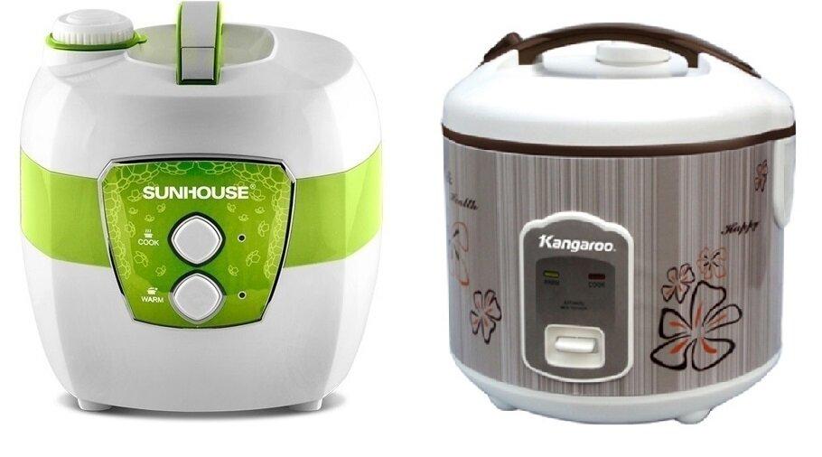 So sánh nồi cơm điện Sunhouse SHD8620 và nồi cơm điện Kangaroo KG370S