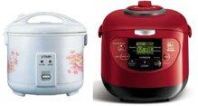 So sánh nồi cơm điện Tiger JNP1800 và nồi cơm điện Hitachi RZ-XM18Y