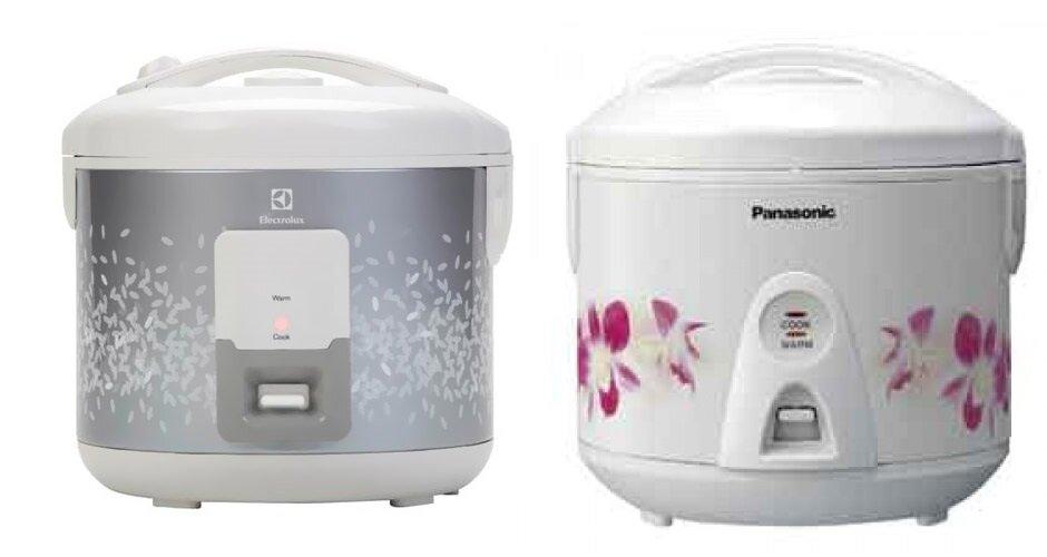 So sánh nồi cơm điện Electrolux ERC2100 và nồi cơm điện Panasonic SR-TEJ18