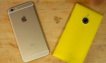 So sánh Nokia Lumia 1520 và iPhone 6 Plus: Sự thống trị của smartphone màn hình lớn