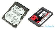 So sánh ổ cứng máy tính SSD và ổ cứng HDD