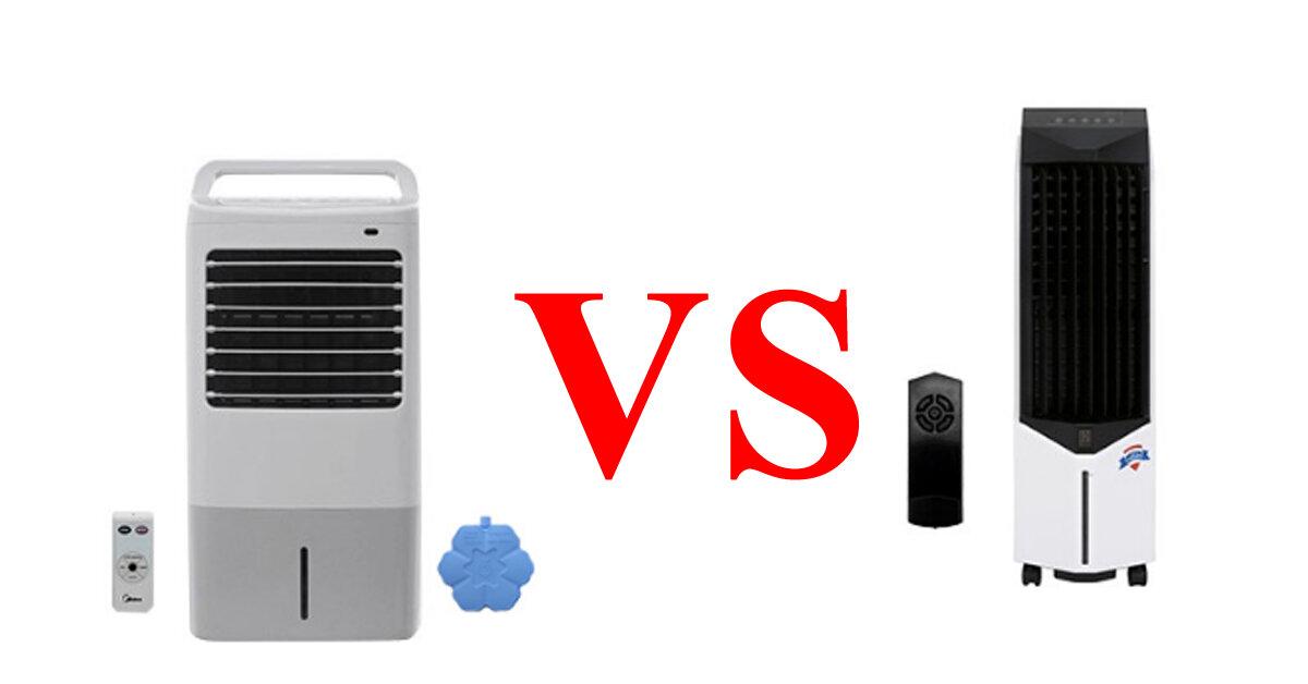 So sánh quạt điều hòa Boss S-102 và Midea AC120-16AR : Giá đắt gấp 2 lần liệu có đáng để mua không ?