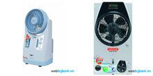 So sánh quạt phun sương để bàn Saiko MF-790H và Sunhouse SHD7819