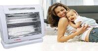 So sánh quạt sưởi carbon và halogen: mua thiết bị sưởi nào tốt nhất?