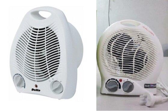 So sánh quạt sưởi gió 2 chiều Deko FH-501 và quạt sưởi mini Facare TWFH A02