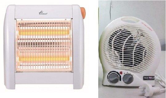 So sánh quạt sưởi Hanil EH-809 và quạt sưởi mini Facare TWFH A02