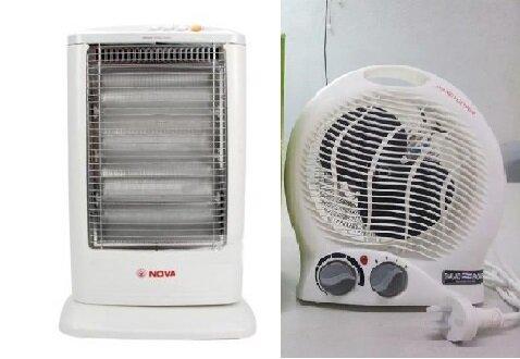 So sánh quạt sưởi mini Facare TWFH A02 và quạt sưởi Nova DH066